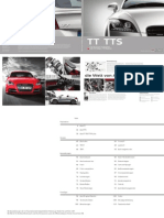 Audi TT & TTS Catalogue (Germany, 2013)