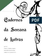 Caderno Semana 2011 - Volume II