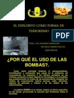 3.-El Explosivo Como Forma de Terrorismo Cnel Semenzin