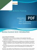 GRC 10 Training