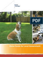 Noise Guide for Local Government