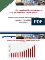 7.La Exploracion y Explotacion Petrolera en El Peru, Produccion y Regulaciones