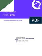HSDPA Parameter Setting iPlanner