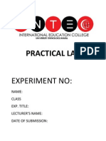Practical Lab Cover