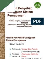 Parasit Penyebab Gangguan Sistem Pernapasan