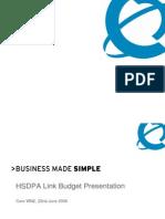 HSDPA Link Budget Presentation v1%2E09