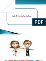 Male Female Psychology