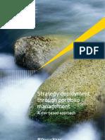 Strategy Deployment Through Portfolio Management_2012