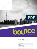 Bounce- Brand Standards Manual