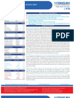 Go Ahead for Equity Morning Note 10 May 2013-Mansukh Investment and Trading Solution
