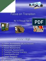 focus on transition - ginny