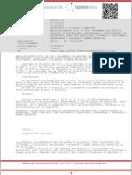 DTO N°042, Reglamento Nacional de Instaladores, mantenedores y certificsdores de ascensores de cualquier tipo.