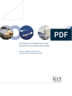 Air Pollution and GHG Emissions From Ocean Vessels