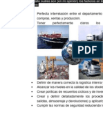 Cuáles son los factores que contribuyen al éxito de un plan logístico