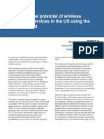 Wimax Report - Expanding the potential of wireless services in the US using the 3.65GHz band