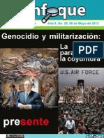 Enfoque 29, Genocidio y Militarizacion
