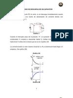 Proceso de Descarga de Un Capacitor
