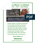 Guide to iMovie 11 Editing© PRO Edition