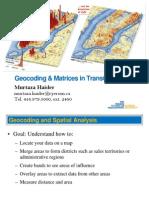 GIS Geocoding