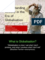 Globalisation and Society for ASC-MKU Edited