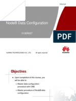 Huawei NodeB Data Configuration