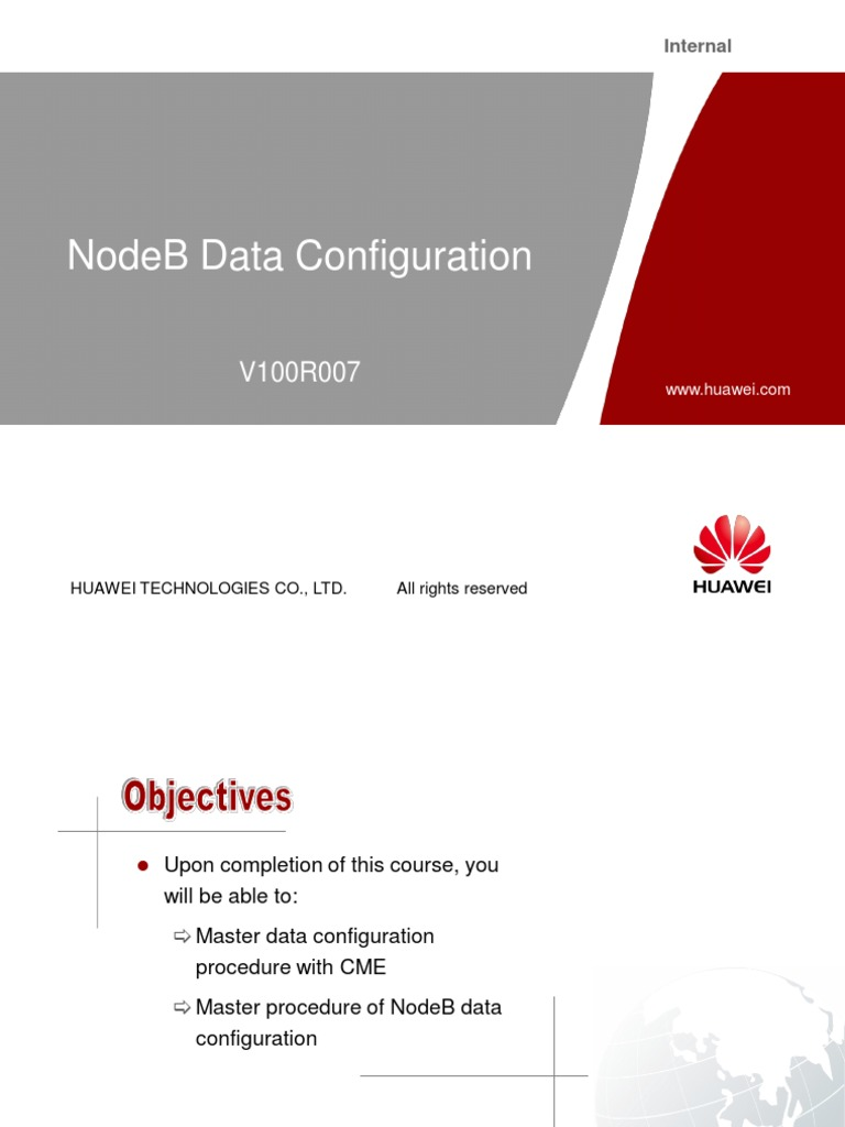 Huawei NodeB Data Configuration | Asynchronous Transfer Mode | Ip