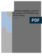 Standard Installation Criterion for DTAC 2G V10 1 ENG