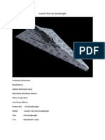 Assertor Class Star Destroyer Star Wars RPG