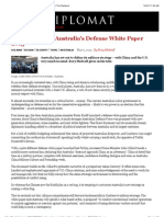 Breaking Down Australia's Defense White Paper 2013 | The Diplomat