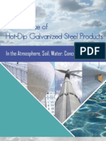 Performance of Galvanized Steel Products