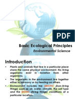 1. Basic Ecological Concepts and Principles