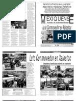 Versión impresa del periódico El mexiquense 9 mayo 2013
