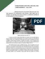 Testimonio de Jorge Basadre sobre el incendio de la Biblioteca Nacional del Perú en 1943