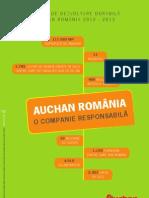 Raport Dezvoltare Durabila Auchan RO 2012