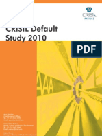 Crisil Rating Default Study 2010