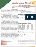 Trojan Investing Newsletter Volume 2 Issue 3