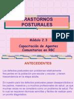 2_3 PREVENCIÓN DE TRASTORNOS POSTURALES