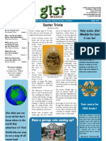 Gist Weekly Issue 19 - Easter Trivia