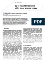 Spectroscopy of high-temperature matter heated by laser plasma X-rays _REVIEW ARTICLE.pdf