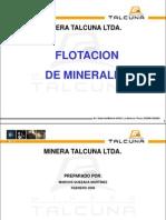 Presentación capacitación fLOTACION