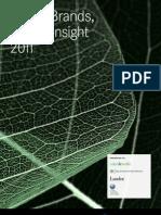 2011 Global ImagePower Green Brands Survey by Penn Schoen Berland