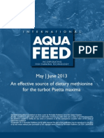 An effective source of dietary methionine for the turbot Psetta maxima