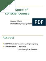 disturbanceofconscienceness