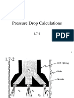1.7 Pressure Drop Calculations