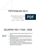 Pertemuan Ke-5 Dan 6 (ISO 17025)
