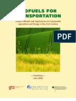 Biofuel for Transport