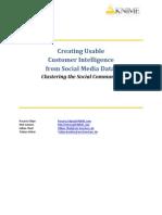 Knime Social Media Data Clustering Whitepaper