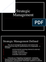 Strategic Management (NOT MADE BY ME)