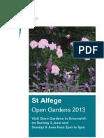 Open Gardens Press Release - Details