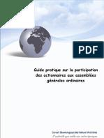 Guide de l'Actionnaire